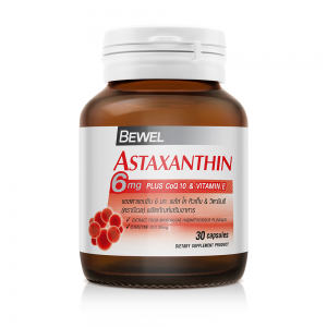 BEWEL ASTAXANTHIN 6 MG PLUS CO-Q10 & VITAMIN-E (BOT-30CAPS)