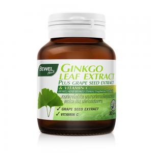 BEWEL GINKGO LEAF EXTRACT (BOT-30 TABS)