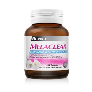 Bewel - Melaclear Glutathione & Alpha Lipoic Acid 30 caps