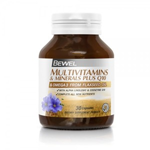 Bewel - Multivitamins & Minerals Plus Q10 30 caps