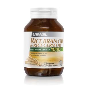 Bewel - Rice Bran Oil & Rice Germ Oil 70 caps