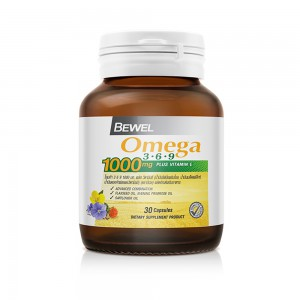 Bewel - Omega 3-6-9  1000 mg 30 caps