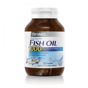 Bewel - Salmon Fish Oil 1000 mg 70 caps